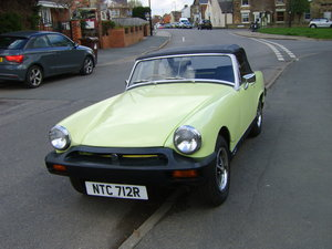 1977 MG Midget 1500 73700 mls For Sale
