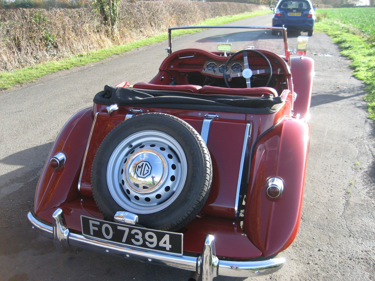1954 MG TF Roadster For Sale (picture 6 of 6)