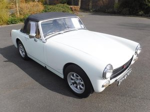 **APRIL AUCTION**1972 MG Midget 1275 SOLD by Auction
