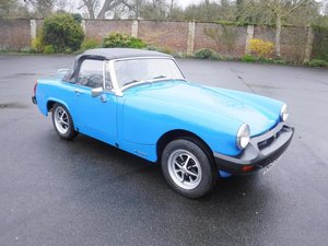 **APRIL AUCTION**1978 MG Midget SOLD by Auction