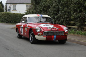 1965 MGB Roadster - FIA Race Car - Exceptional Condition SOLD