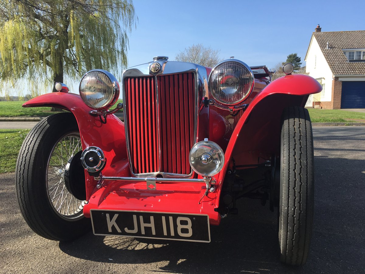 1948 Factory Condition MG TC For Sale (picture 1 of 6)