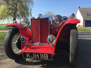 1948 Factory Condition MG TC For Sale