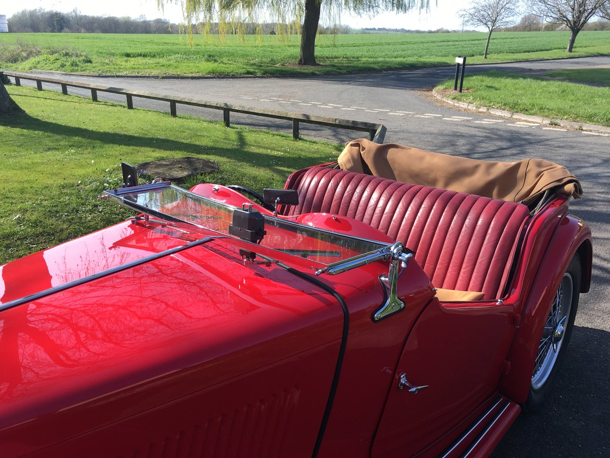 1948 Factory Condition MG TC For Sale (picture 2 of 6)
