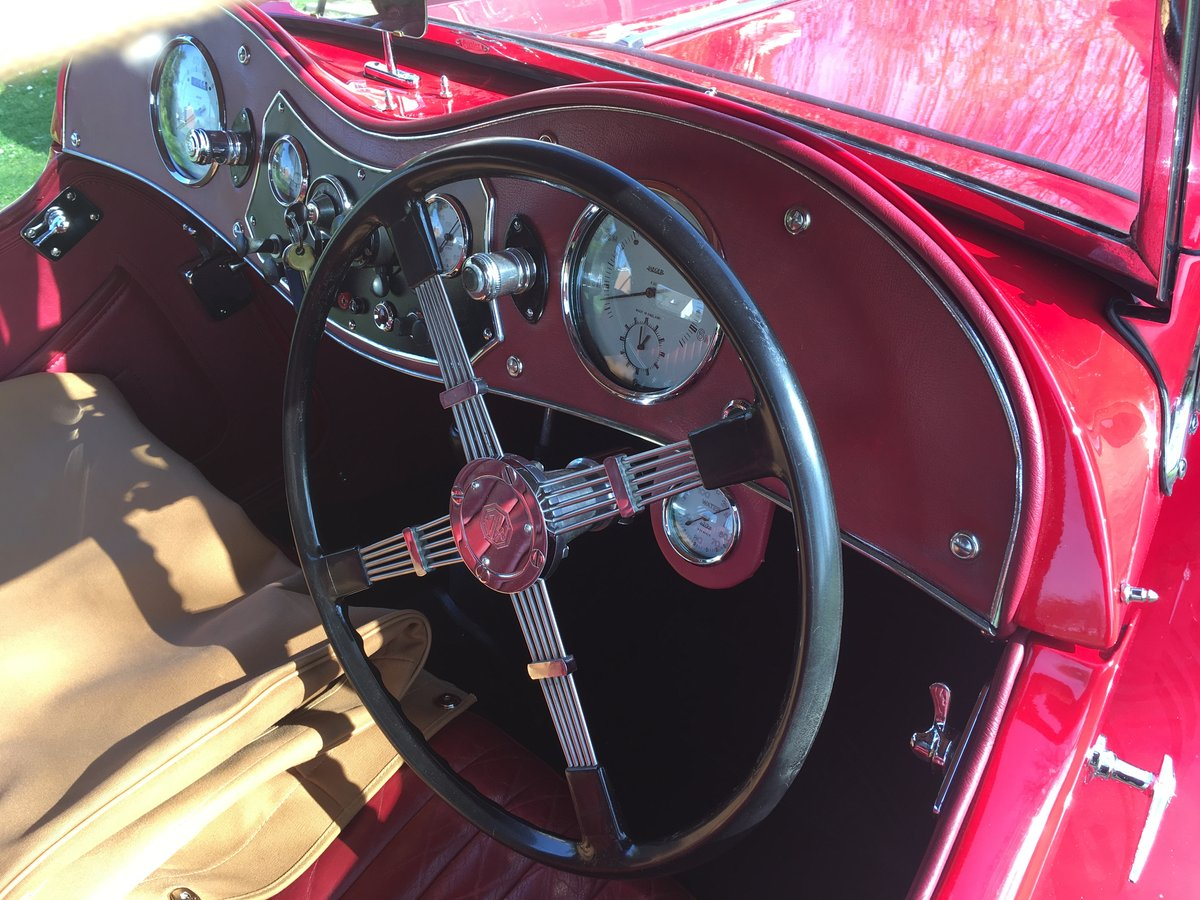 1948 Factory Condition MG TC For Sale (picture 4 of 6)