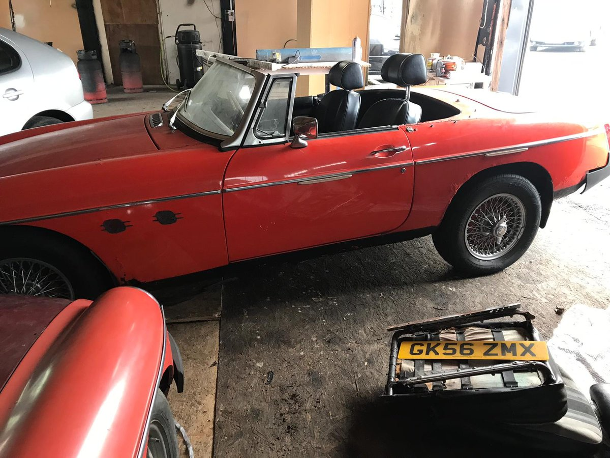 MGB roadster RHD 2000 For Sale (picture 1 of 6)