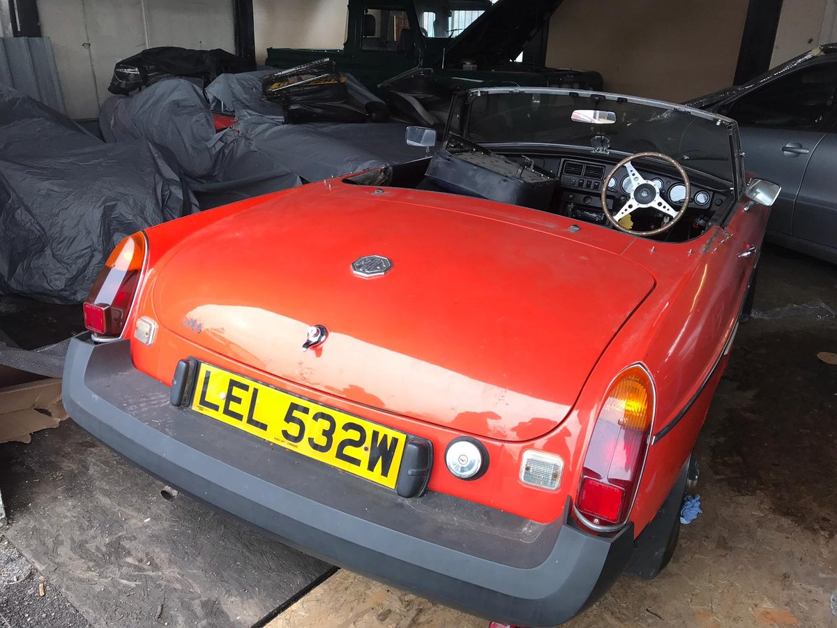 MGB roadster RHD 2000 For Sale (picture 3 of 6)