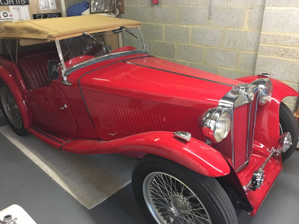 1948 Factory Condition MG TC For Sale (picture 5 of 6)