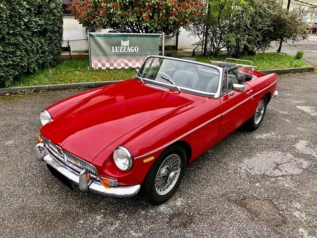 1968 MG B ROADSTER RHD For Sale (picture 1 of 6)
