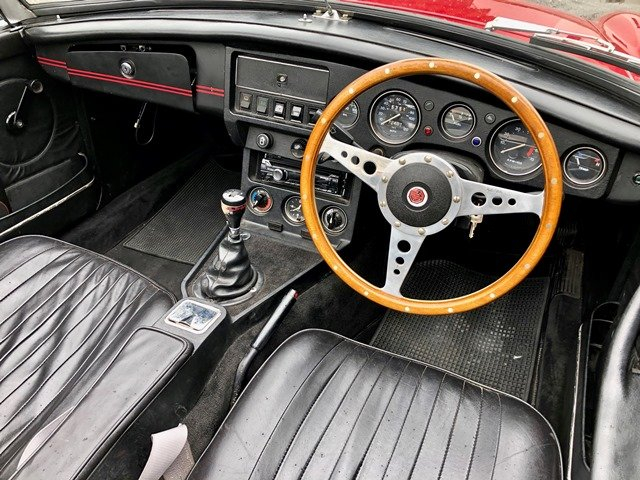 1968 MG B ROADSTER RHD For Sale (picture 5 of 6)
