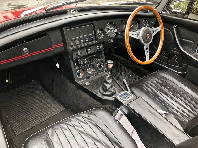 1968 MG B ROADSTER RHD For Sale (picture 6 of 6)