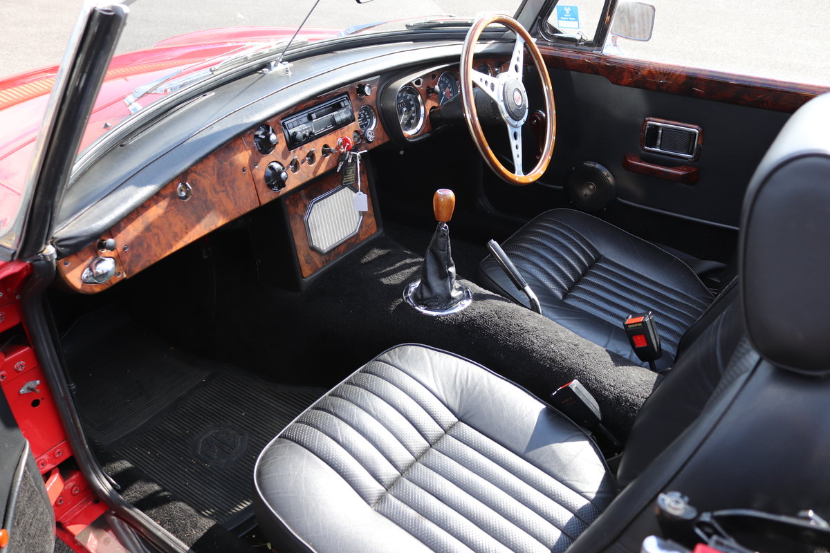 1971 MGB Roadster ,bare shell rebuild,  SOLD (picture 2 of 6)