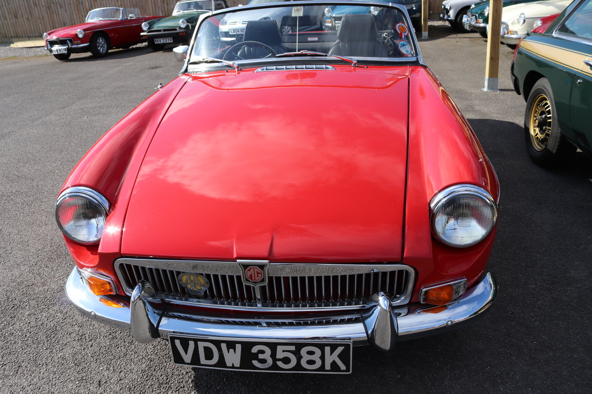 1971 MGB Roadster ,bare shell rebuild,  SOLD (picture 6 of 6)