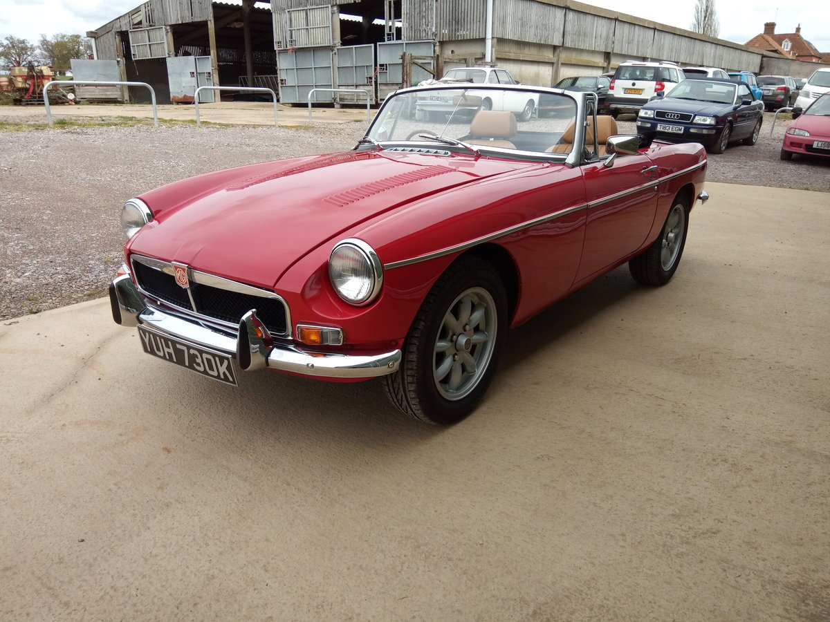 1972 MGB V8 Roadster. 5 Speed Gearbox SOLD (picture 4 of 6)