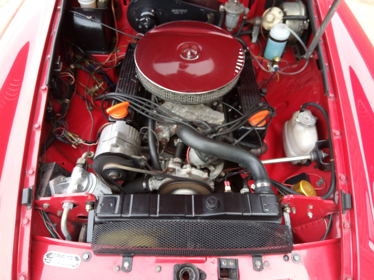 1972 MGB V8 Roadster. 5 Speed Gearbox SOLD (picture 6 of 6)