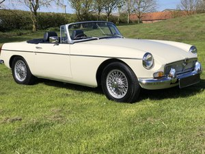 Mgb Roadster-1975-Low miles-New Herritage shell SOLD