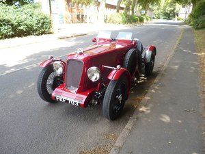 MG TA Pointed-Tale Supercharged Special 1938 SOLD
