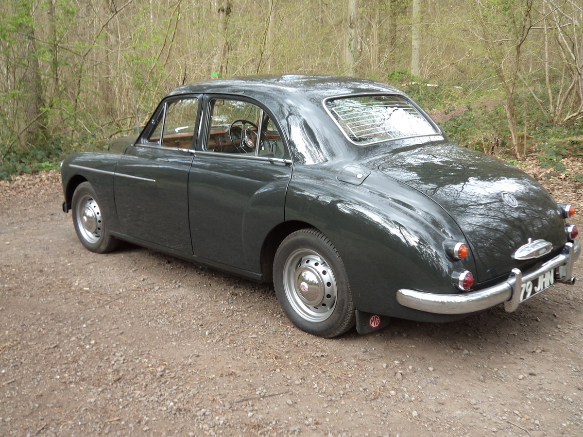 1958 Very Original ZB Magnette SOLD (picture 2 of 6)