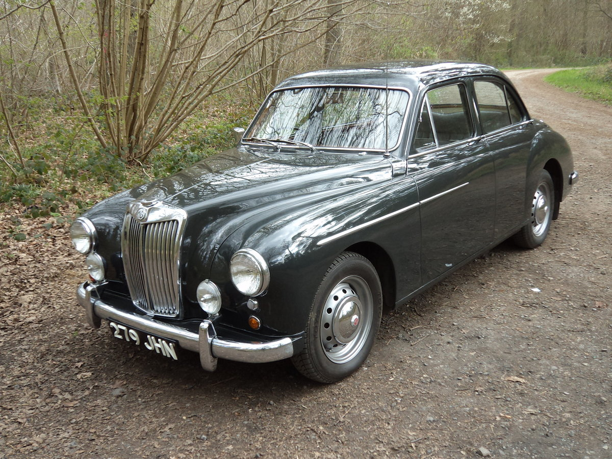 1958 Very Original ZB Magnette SOLD (picture 1 of 6)