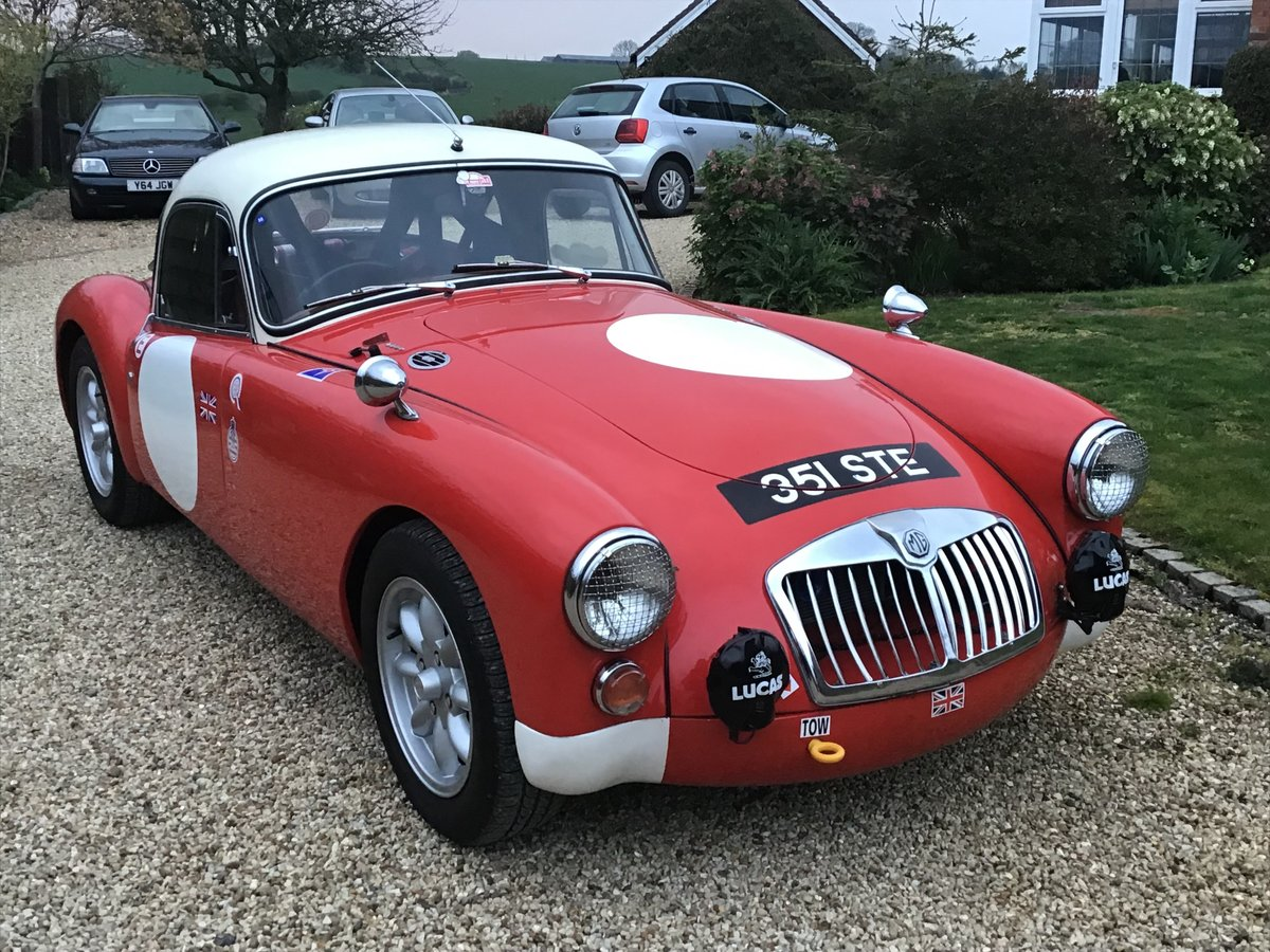 1960 MGA 1600 COUPE (1800CC) RALLY PREPARED. For Sale (picture 1 of 6)