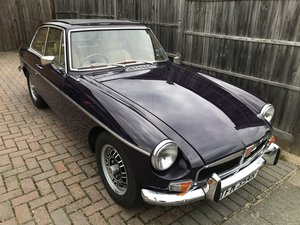 1976 MGB GT V8 FACTORY CAR. For Sale