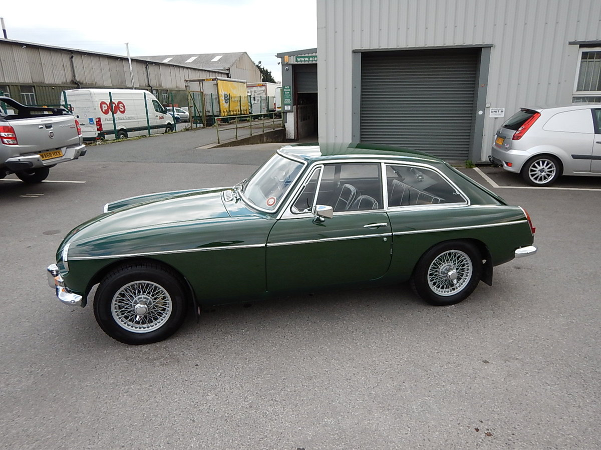 1968 MGB GT ~ Leather ~ Manual with Overdrive ~ Wire Wheels ~  SOLD (picture 1 of 6)