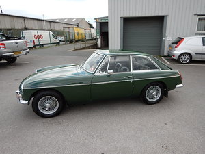 Picture of 1968 MGB GT ~ Leather ~ Manual with Overdrive ~ Wire Wheels ~  SOLD