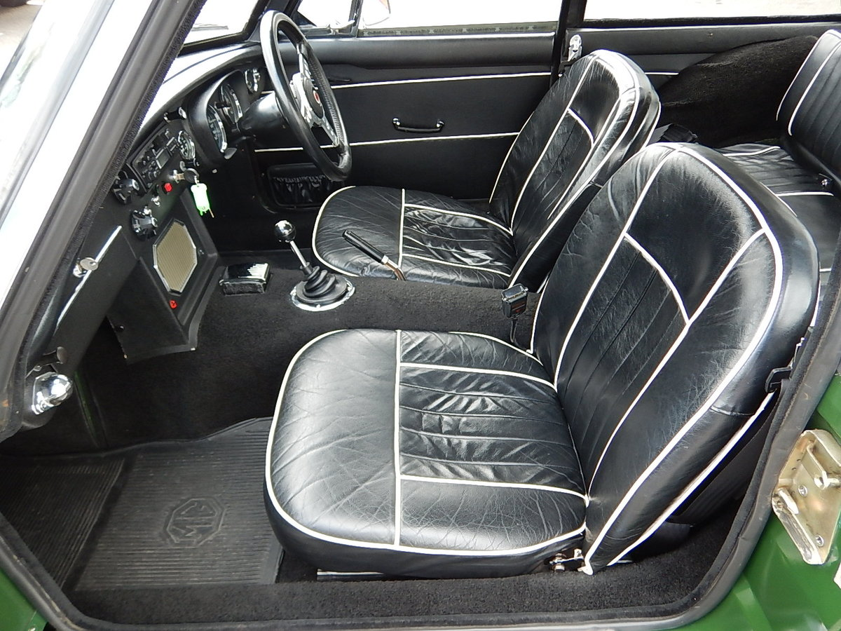 1968 MGB GT ~ Leather ~ Manual with Overdrive ~ Wire Wheels ~  SOLD (picture 5 of 6)