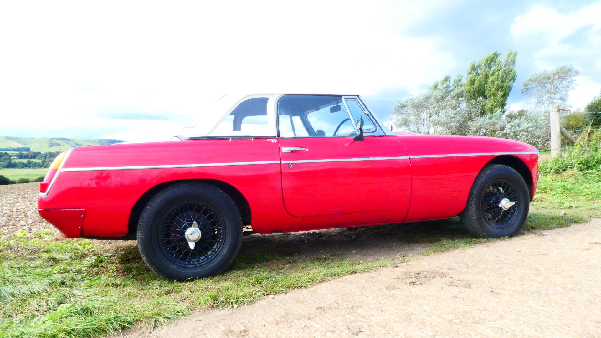 1963 MGB Roadster Early Pull Handle car  For Sale (picture 1 of 6)