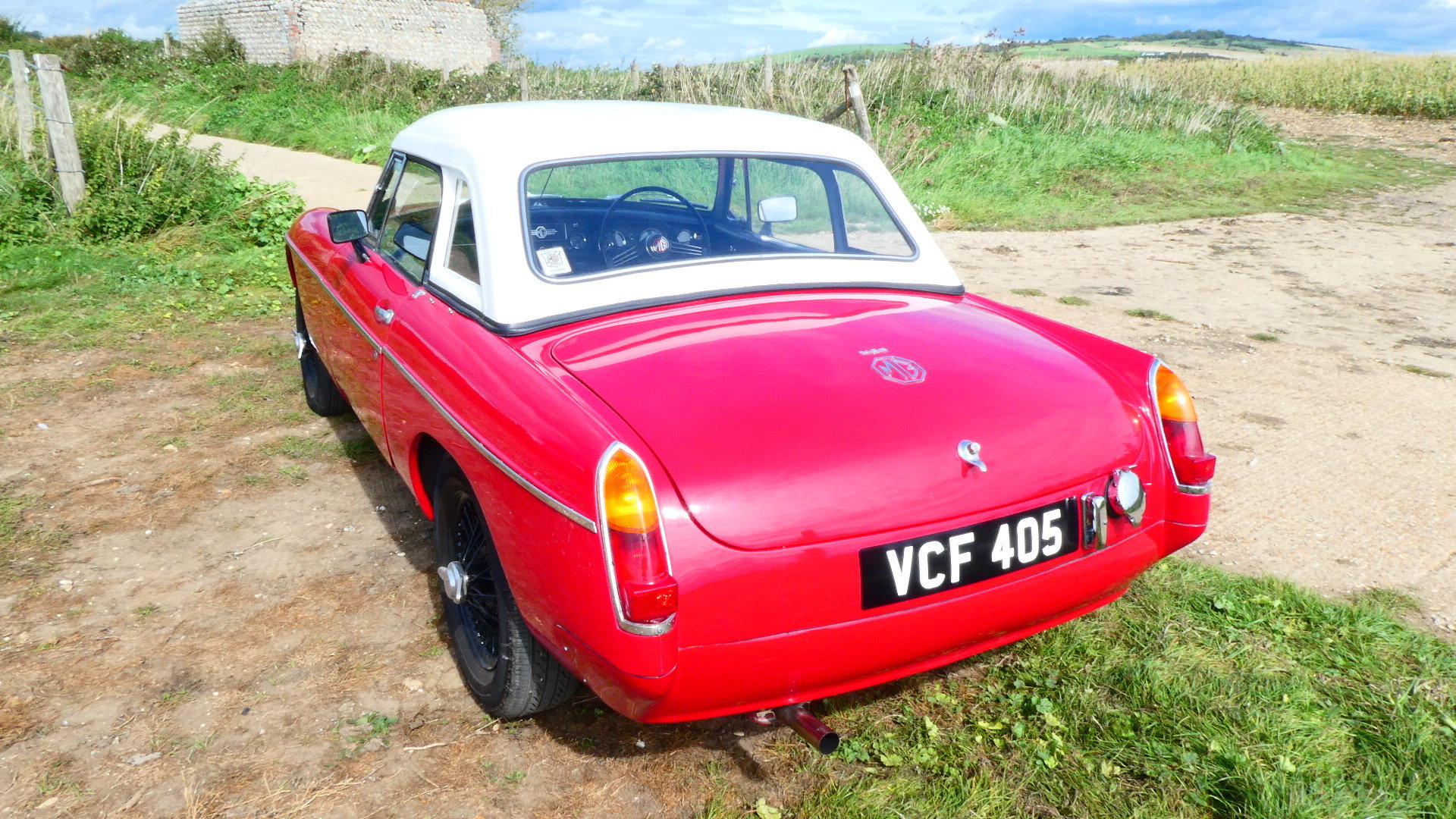 1963 MGB Roadster Early Pull Handle car  For Sale (picture 4 of 6)