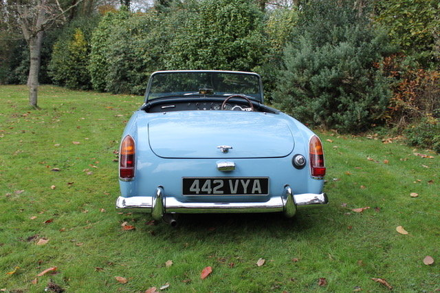 1962 MG Midget  SOLD (picture 4 of 6)