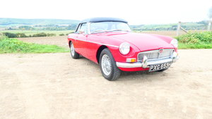 1969 MGB Roadster with Heritage shell  SOLD