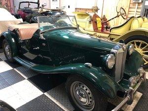 1954 MG TD Brilliant