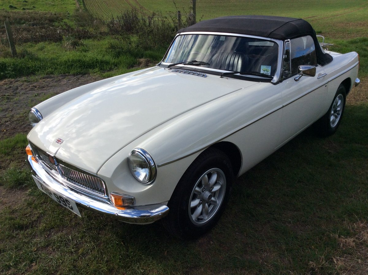 1977 Superb MGB - on the button and a joy SOLD (picture 3 of 6)