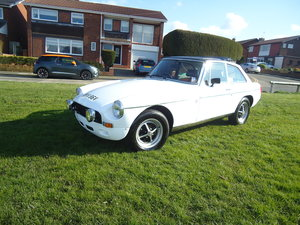1980 MGB GT. 12 months mot no advisories, drive it home For Sale