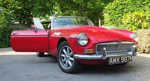 1969 MGB V8 roadster For Sale