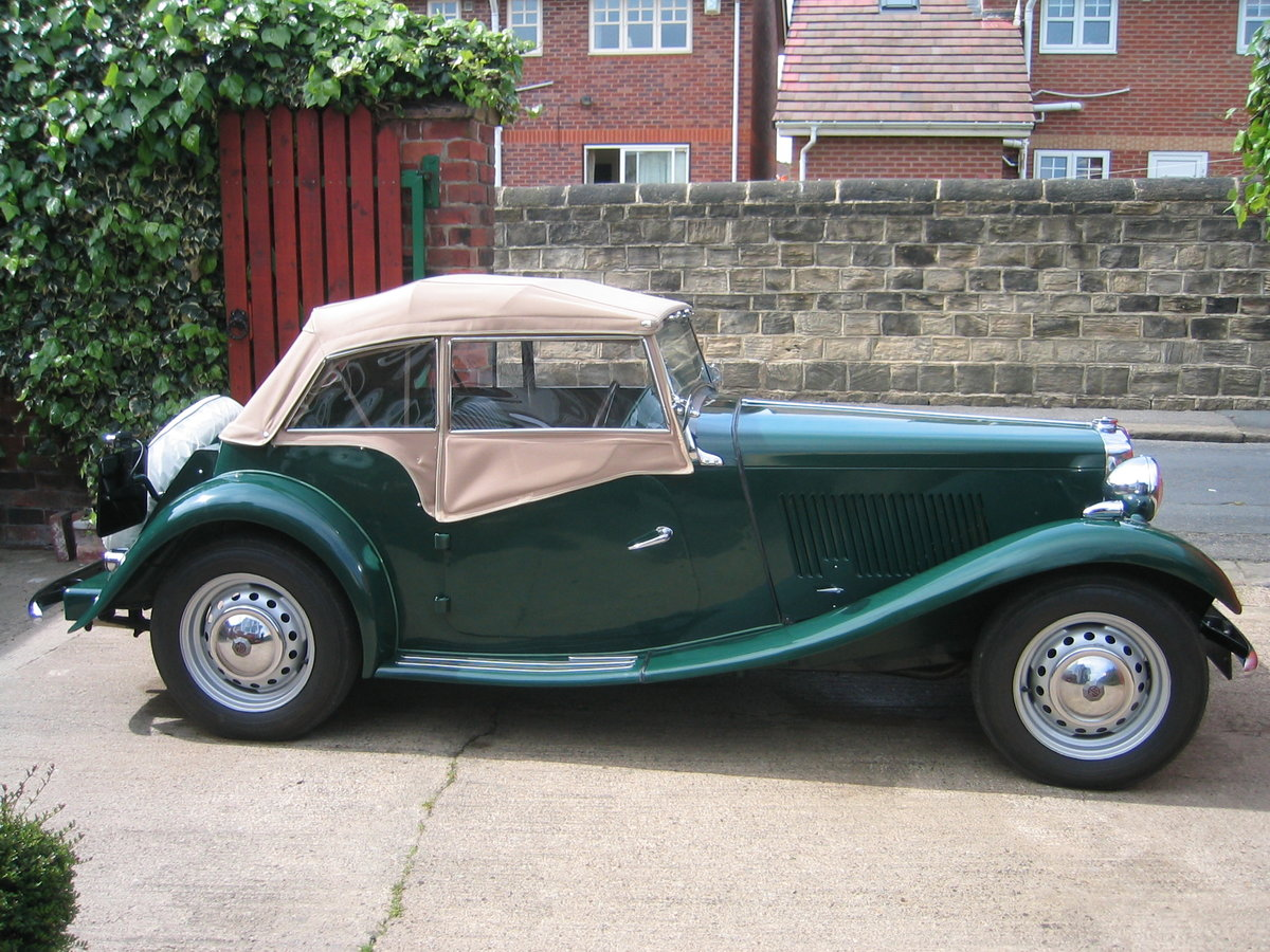 1953 MG TD SOLD (picture 4 of 6)