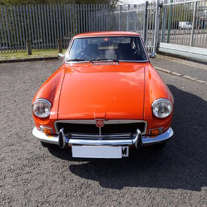 1974 MGB GT .  For Sale