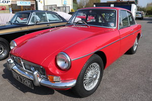 1969 MGB GT rare MK2,Tartan red For Sale