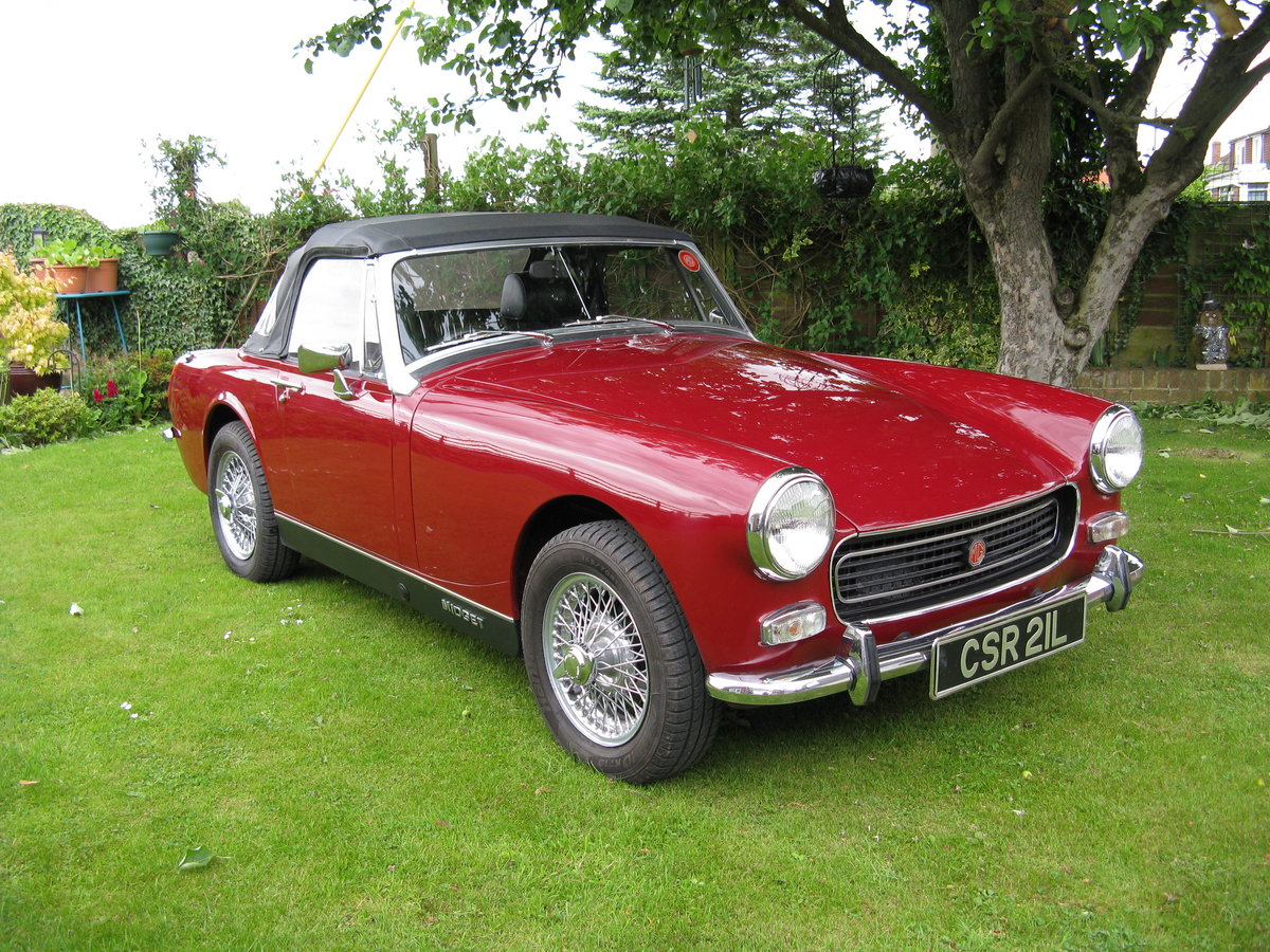 1973 MG Midget For Sale (picture 1 of 6)