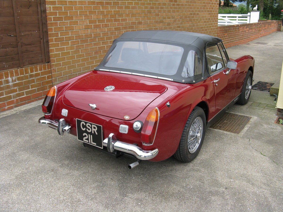 1973 MG Midget For Sale (picture 2 of 6)