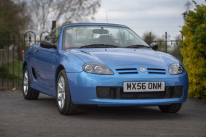 2006 MG TF 115 - Only 7,800 miles - on The Market SOLD by Auction