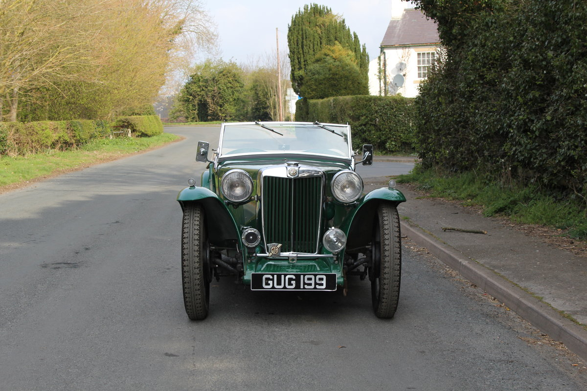 1938 MG TA Supercharged - Alloy wings, 1350cc, New frame SOLD (picture 2 of 12)