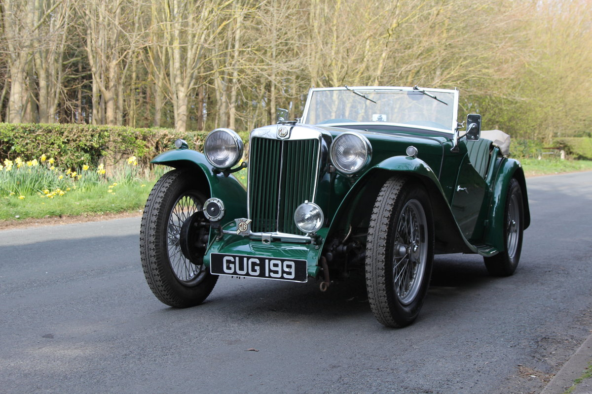 1938 MG TA Supercharged - Alloy wings, 1350cc, New frame SOLD (picture 3 of 12)