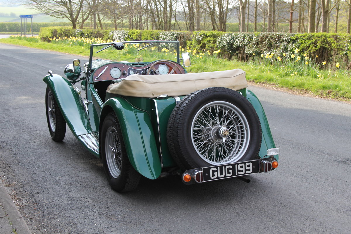 1938 MG TA Supercharged - Alloy wings, 1350cc, New frame SOLD (picture 4 of 12)