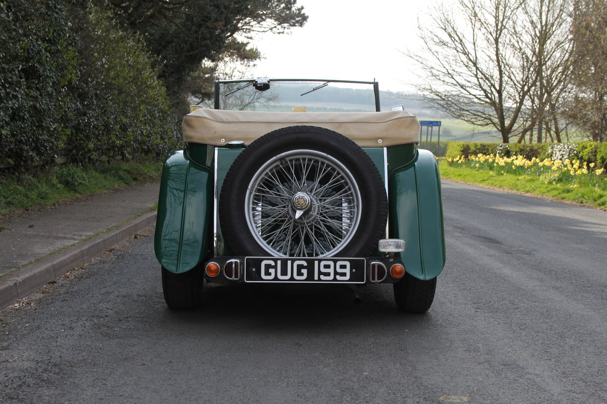 1938 MG TA Supercharged - Alloy wings, 1350cc, New frame SOLD (picture 5 of 12)