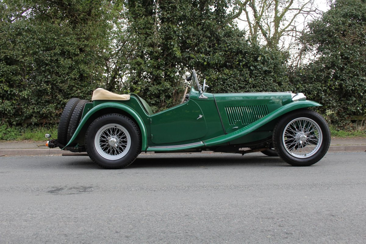 1938 MG TA Supercharged - Alloy wings, 1350cc, New frame SOLD (picture 6 of 12)