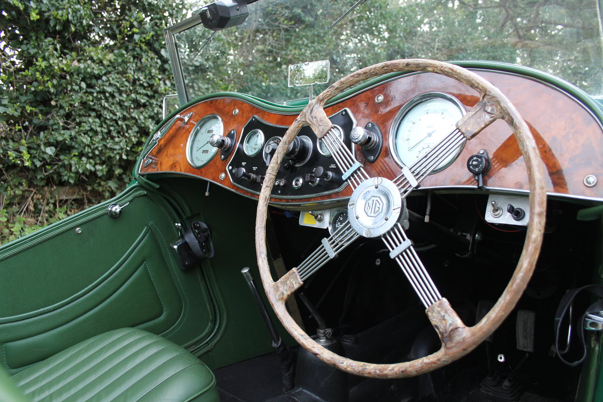 1938 MG TA Supercharged - Alloy wings, 1350cc, New frame SOLD (picture 7 of 12)