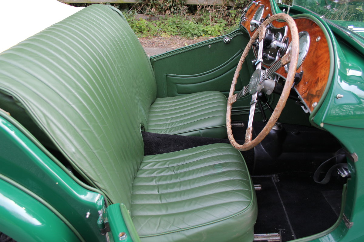 1938 MG TA Supercharged - Alloy wings, 1350cc, New frame SOLD (picture 8 of 12)