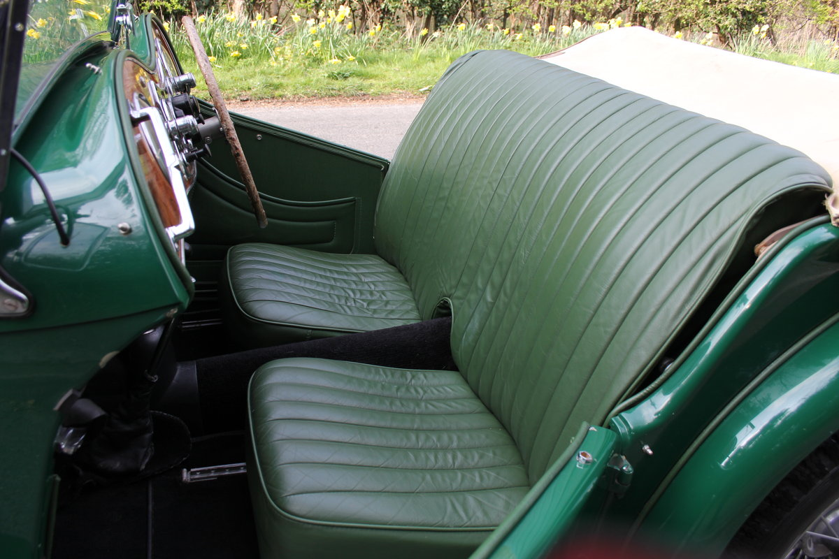 1938 MG TA Supercharged - Alloy wings, 1350cc, New frame SOLD (picture 9 of 12)